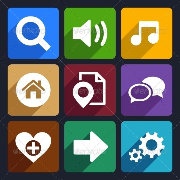 Multimedia Flat Icons Set 4  #GraphicRiver         Multimedia flat icons set for Web and Mobile Applications     Created: 18November13 GraphicsFilesIncluded: JPGImage #VectorEPS #AIIllustrator HighResolution: No Layered: No MinimumAdobeCSVersion: CS Tags: communication #design #digital #element #flat #fx #game #games #global #icon #icons #interface #internet #isolated #media #mobile #multimedia #music #off #on #page #pin #play #set #sign #sound #style #symbol #vector #web
