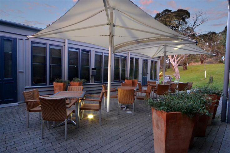 Cuisine Courtyard - great for a quiet drink or pre-dinner wedding canapes.