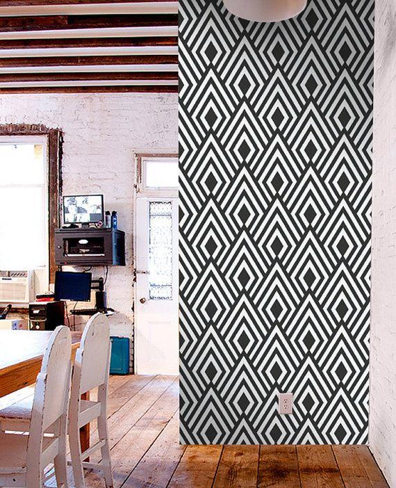 removable modern vinyl wallpaper by