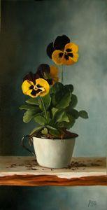Julie Y Panadero Albright-Vermont artista fino JYBA Realismo Art Pinturas al Óleo Todavía pintura al óleo vida Paisaje- NewEngland
