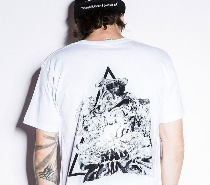 BAD SNAKE X EVIL VENUS TEE – Bad Things Apparel