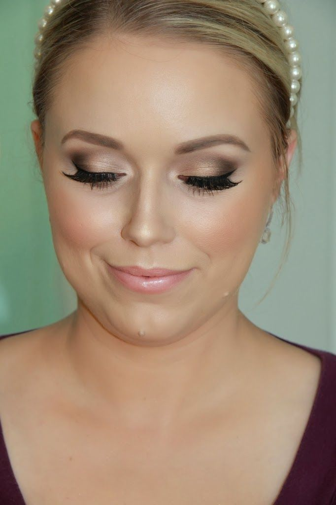 wedding make up - nice but maybe too much like something that a friend (Caroline!) could do? ie not 'special' enough?