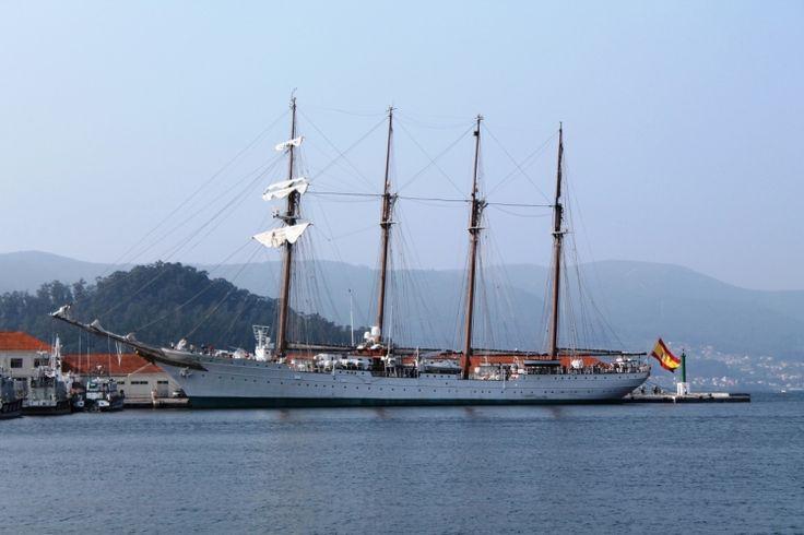 Juan Sebastián Elcano en la Escuela Naval