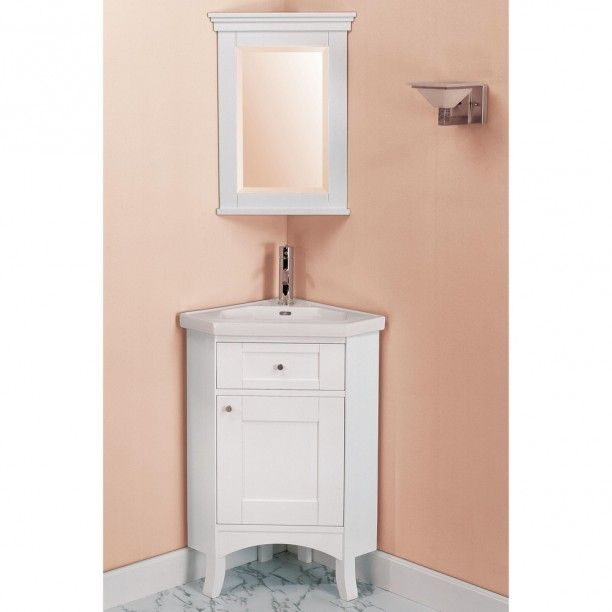 Best Corner Bathroom Vanity Ideas On Pinterest His And Hers - Corner bathroom vanity ikea for bathroom decor ideas