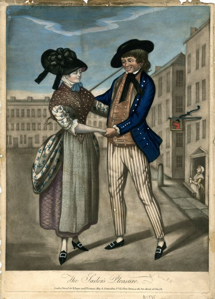"""""""Sayer and Bennett. The Sailor's Pleasure"""", 1781. The British Museum."""