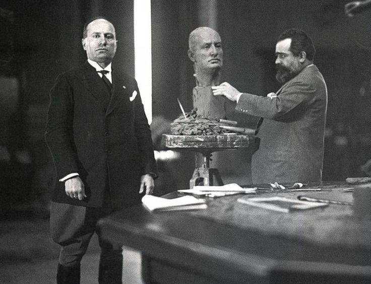 #Duce #Mussolini #Scultura #Busto #Maestria #Fascismo #Ventennio