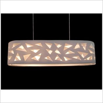 V & M Imports Aldo 55cm 3 Light Pendant