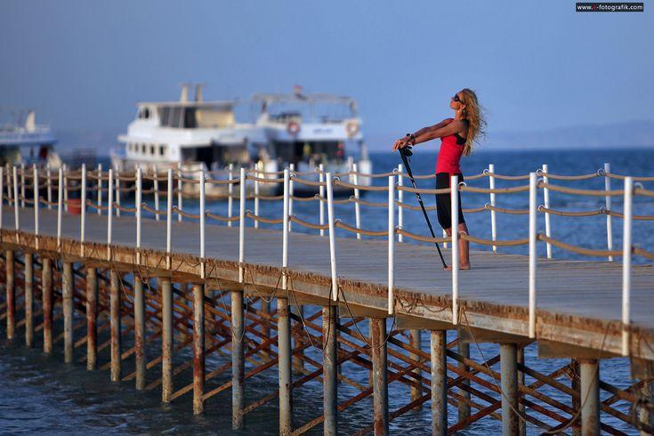 Nordic Walking w Egipcie – Martyna w Egipcie