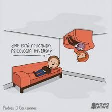 Resultado de imagen para psicologia inversa