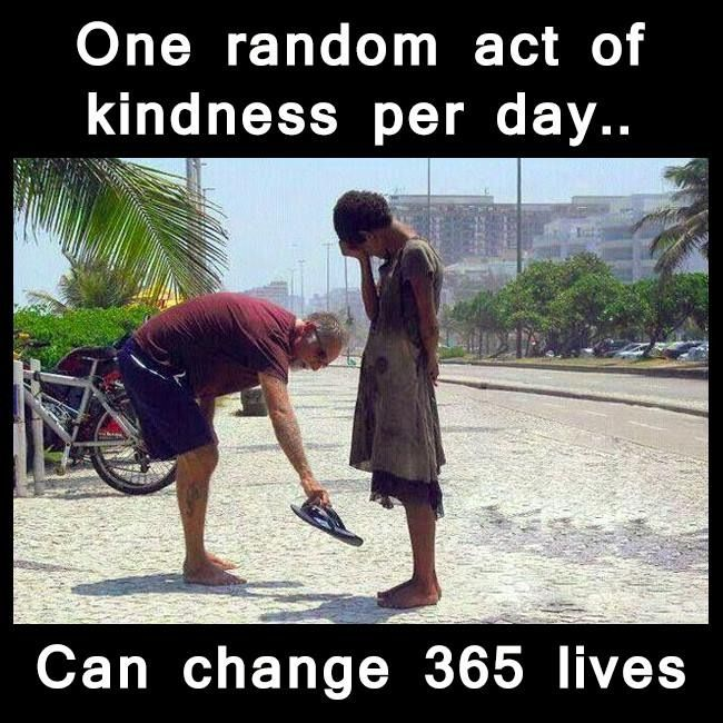 Random acts of kindness stories essay