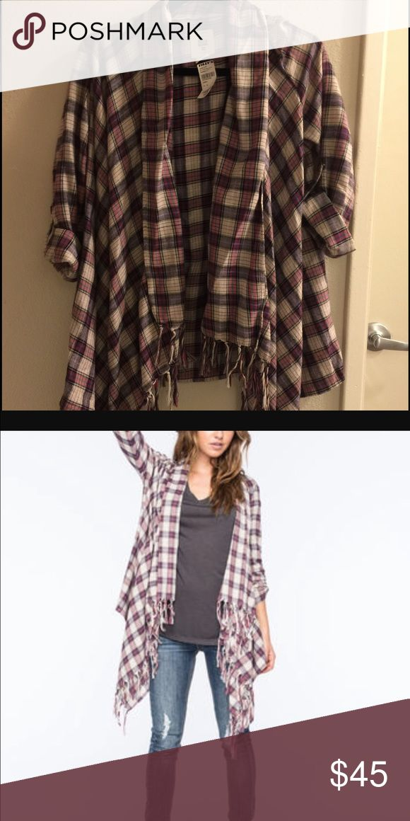 Billabong plaid New with tags billabong plaid! Never worn. Original price $55. Willing to take offers :) Billabong Sweaters