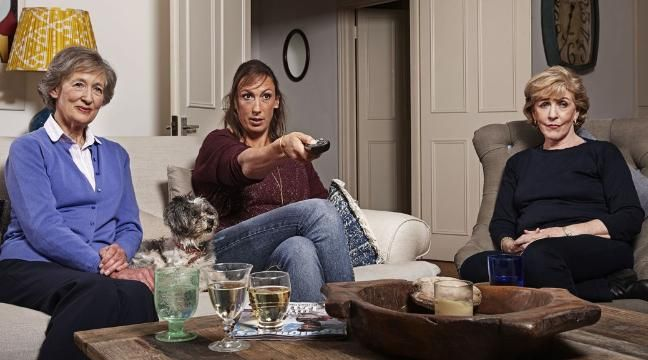 Miranda Hart brings her 'two mums' to Gogglebox celebrity special
