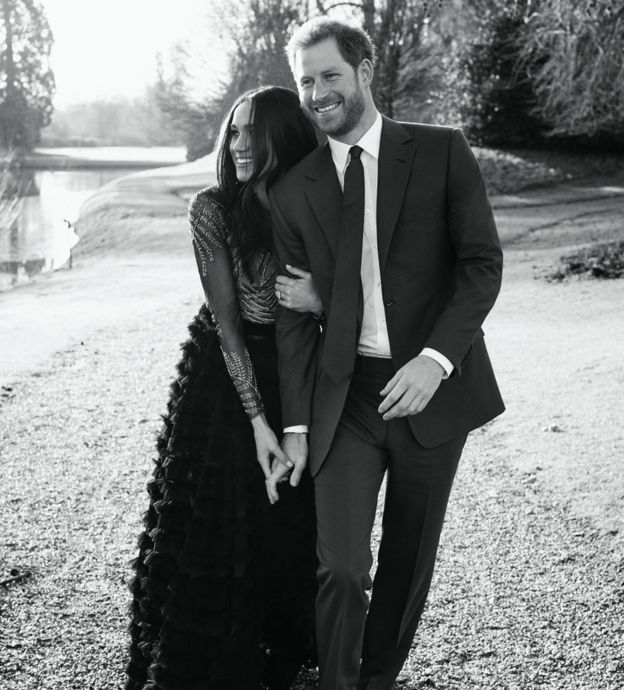 Prince Harry & Meghan Merkel's  Engagement portraits