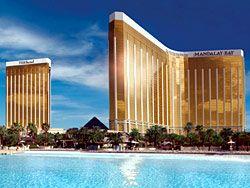 Mandalay Bay @ Las Vegas. Love, love, love this hotel.