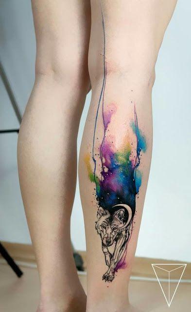 35 lindas tatuagens que simulam aquarela | Tatuagens aquarela, Tatuagens, Tatuagem