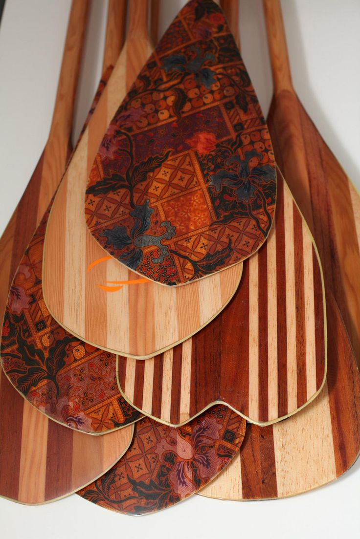 Beautiful paddles!!!! SUP Art from Holland... Hilman SUP Paddles | A R T N A U