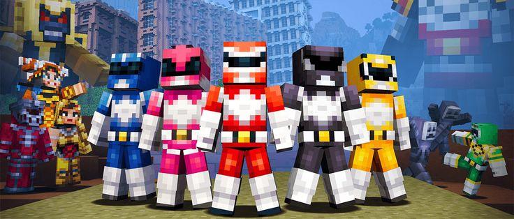 Skórki Power Rangers! - http://minecraft.pl/16120,skorki-power-rangers