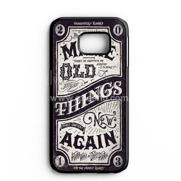 Make Old Things New Again Samsung Galaxy Note 7 Case | aneend