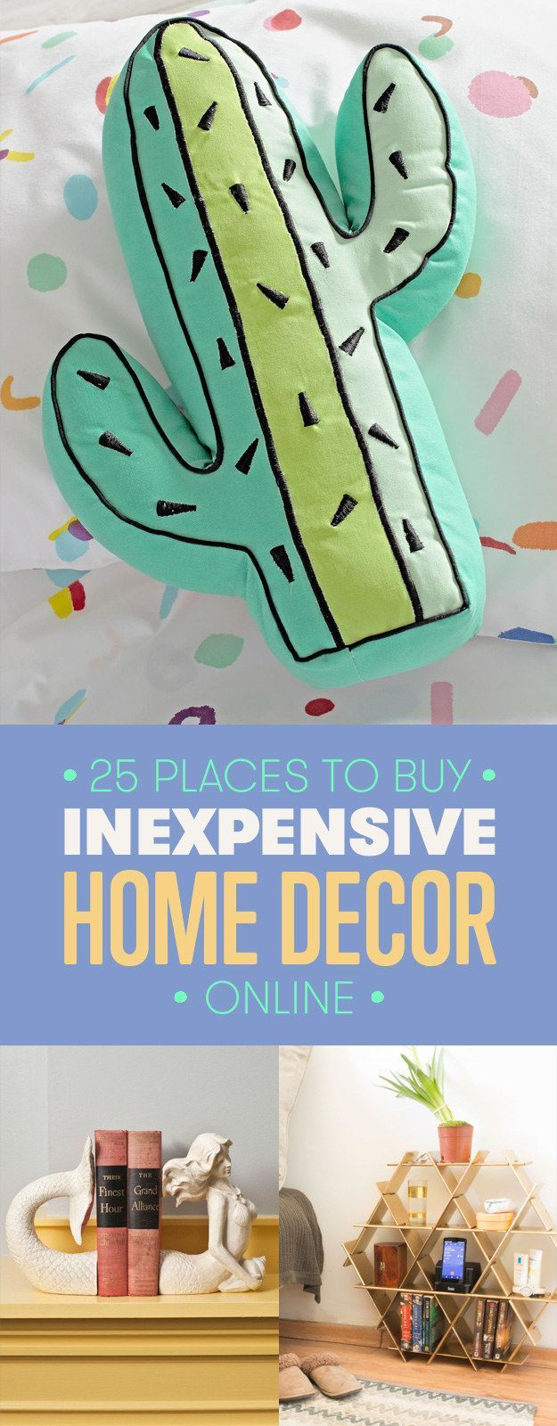25 of the best places to buy inexpensive home decor online - Best Place For Home Decor