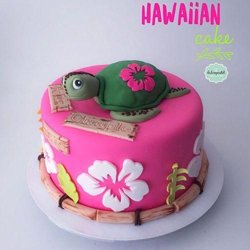 Torta Hawaiana en Medellín by Dulcepastel.com - Hawaiian Cake in Medellin by Dulcepastel.com www.dulcepastel.com