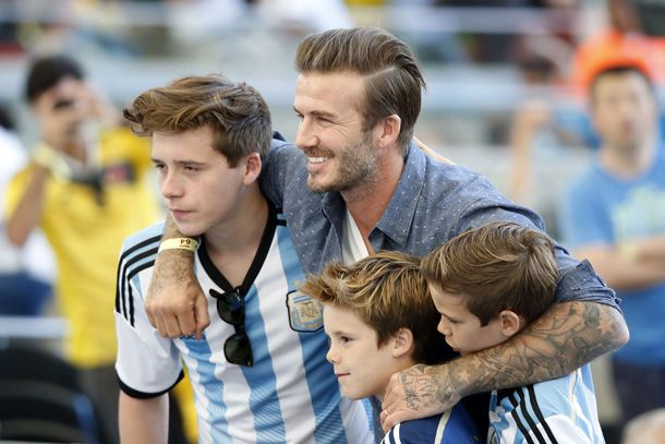David Beckham and son Brooklyn left 'shaken' by car crash ...