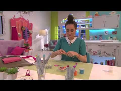 Jill - DIY: Maak een sleutelhanger! - YouTube