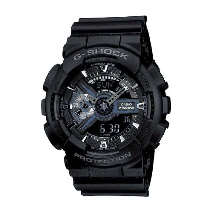 สินค้าดี<SP>Casio G-Shock รุ่น GA-110-1BDR - สีดำ++Casio G-Shock รุ่น GA-110-1BDR - สีดำ (7 รีวิว) Mineral Glass Magnetic Resistant Shock Resistant 200-meter water resistance Case / bezel material: Resin Resin Band LED light Auto light switch, selecta ...++