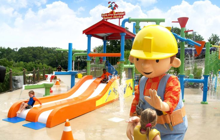 Bob the builder water park for little ones | Hudson Valley NY FUN ...