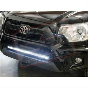 "2012 Tacoma 4x4 w/ Rigid 30"" SR LED Light Bar Bumper Mounted"