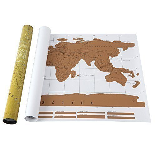 20 best scratch map images on pinterest cards scratch off and scratch off top layer large scale world map comes packaged in a slick tube the ultimate in travel gifts one scratch map deluxe edition publicscrutiny Image collections