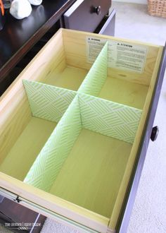 DIY Drawer Dividers-006                                                       …