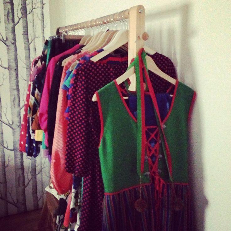 In my bedroom. #retro #folklore #sweden #myhomemycastle #fraufurtenbach