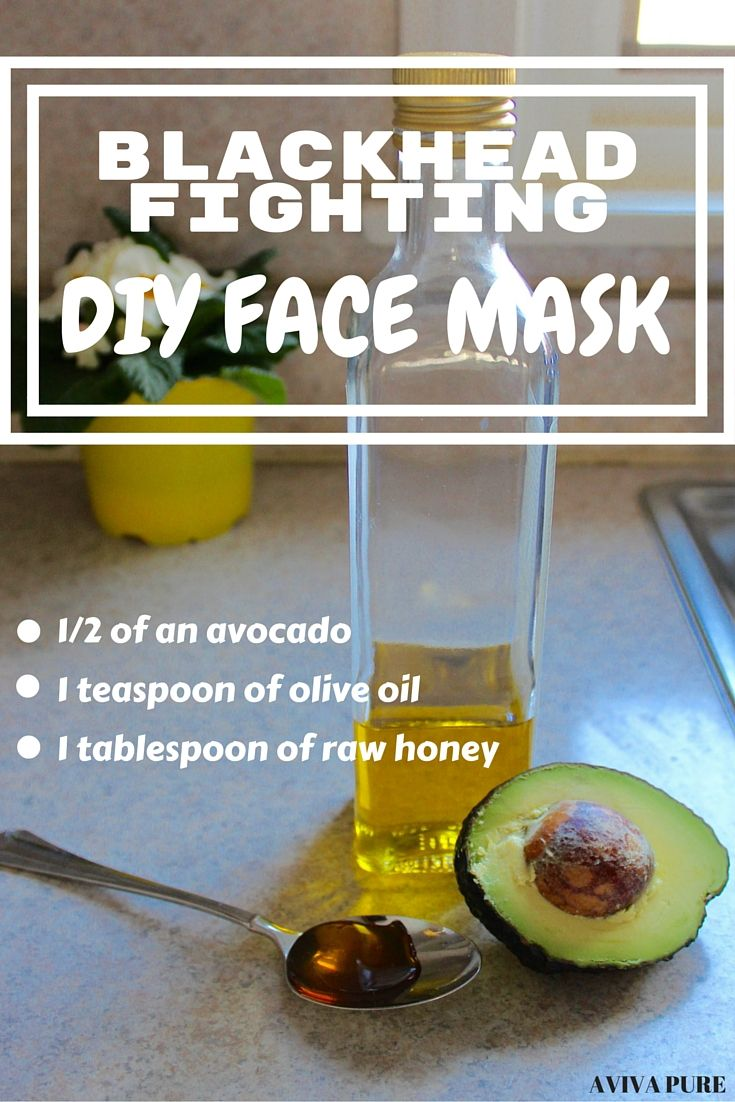 avocado olive oil honey face mask