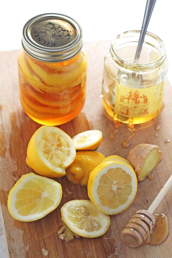 Honey Lemon Ginger Jar – Natural Cold and Flu Remedy