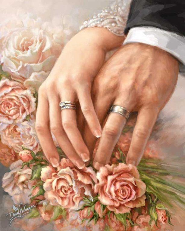 Про привет, открытки для декупажа свадебные