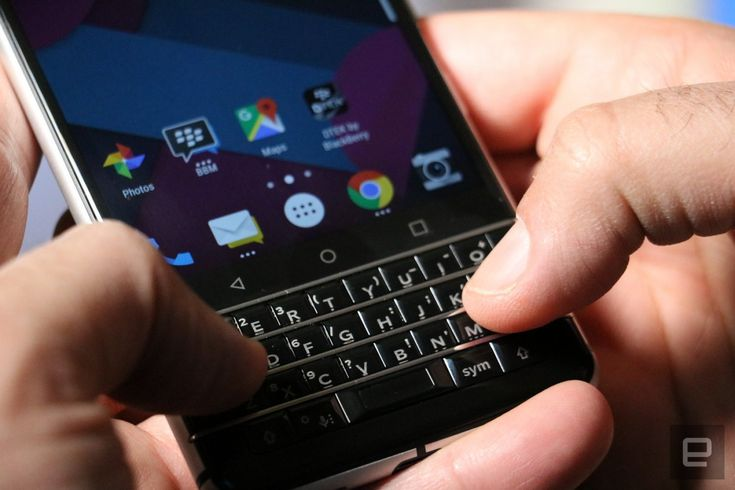 Blackberry Mercuy It's TCL's first device since buying the rights to the BlackBerry brand. https://www.engadget.com/2017/01/04/blackberry-mercury-hands-on/