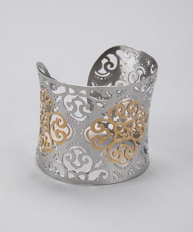 Gold & Silver Cuff
