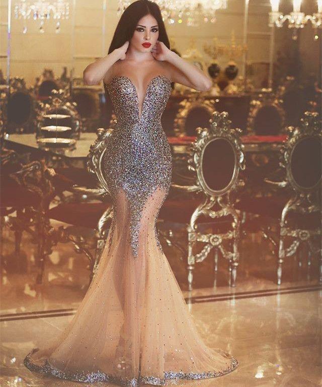 prom dresses,2017 prom dresses,champagne prom dresses,see through evening dresses,sexy prom dresses,sweetheart evening gowns,champagne prom party dresses,vestidos,fashion,women fashion,dress