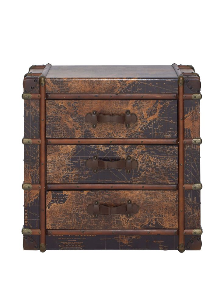 Amazon.com - Deco 79 Wood Chest, 32 by 32-Inch -