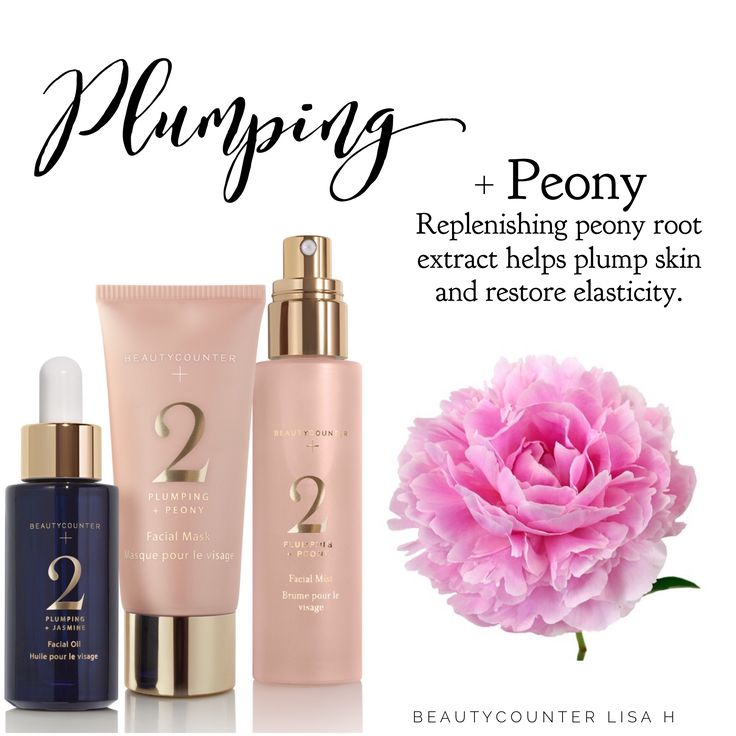 A little Plumping in order? The Beautycounter + No. 2 Plumping Collection is your answer. The Facial Mask is made with deeply cleansing kaolin clay for firmer skin, plumping peony root helps restore skin's elasticity, while konjac root smooths fine lines. The Mist is alcohol-free with peony root and rye seed to minimize fine lines. The Oil is a blend of seven natural oils to replenish, moisturize and help firm skin. #switchtosafer