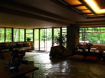 fallingwater house I [Fallingwater House, Pennsylvania, Frank Lloyd Wright]