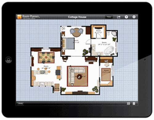 Architecture, Room Application Planner In Cool Home Completed With Some  Rooms And Some Furniture Inside
