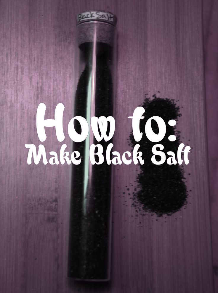 """lokean-witch: """"Special Mama Von Recipe for Samhain! Black Salt, a powerful little ingredient for your spells, hexes, charms and more! Here's my personal recipe for: a) Protection b) Banishing c) Bad Luck Hex You'll Need: Self-igniting..."""
