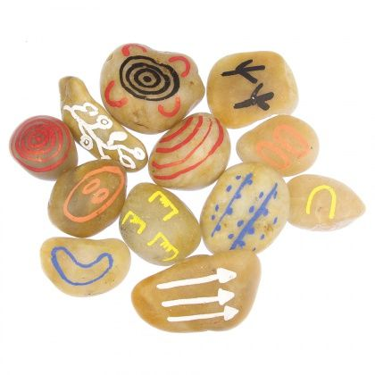 Create your own Dreamtime Story Stones - perfect for learning about our Indigenous history NAIDOC Week