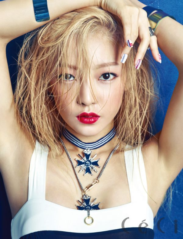 KARA Goo Hara Ceci Magazine August 2015 Photoshoot Fashion Jewelry