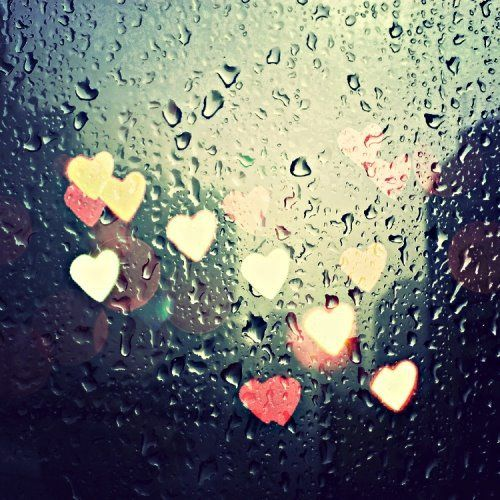 I'm happiest when it rains...