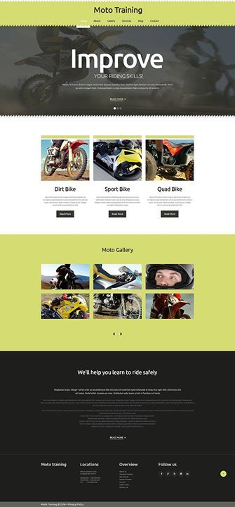 Love who likes it extreme sports responsive website template click here live demo