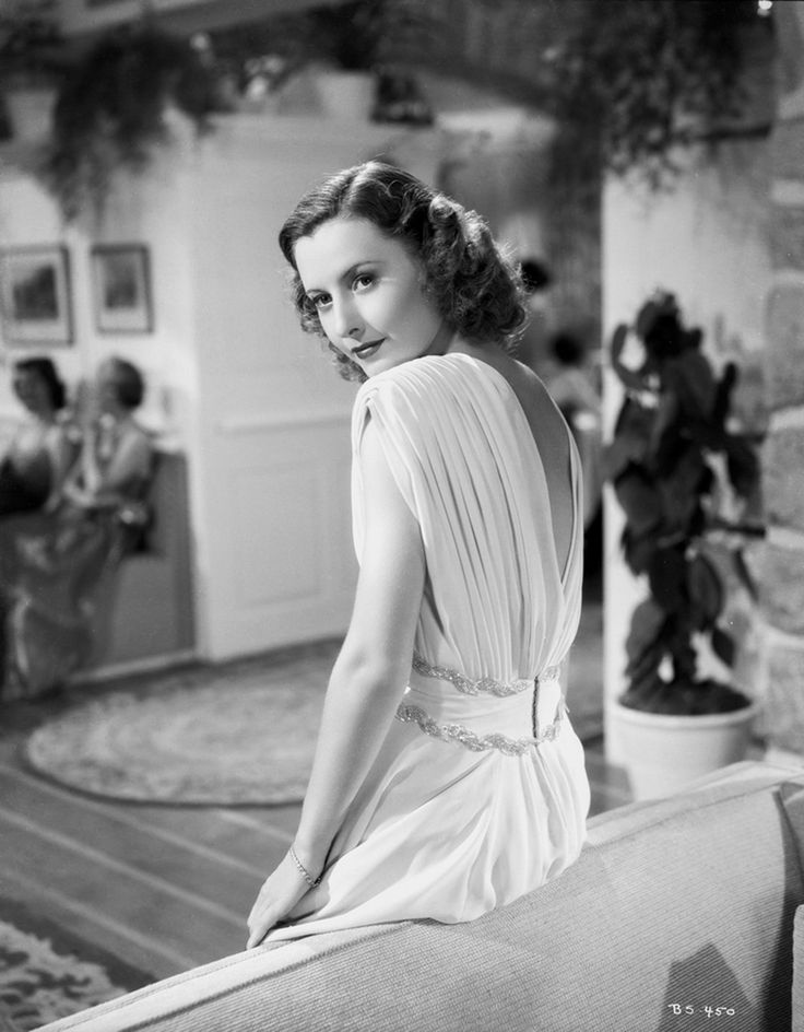 Barbara Stanwyck fotografiada por Alexander Kahle, 1938