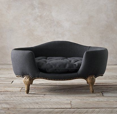 Luxe Upholstered Pet Beds | Restoration Hardware