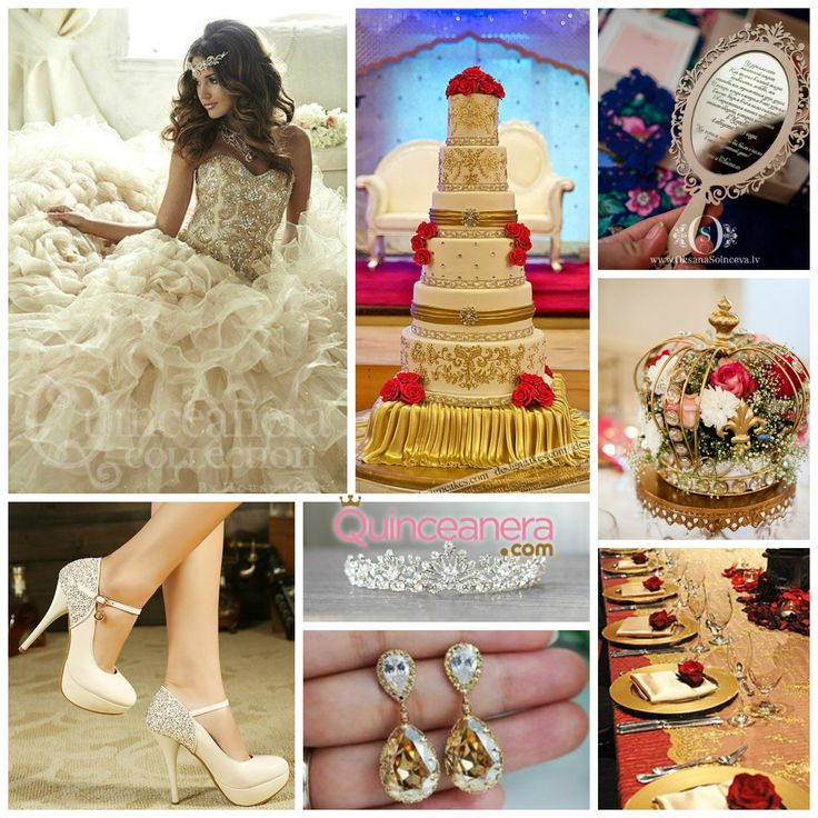 Elegant Beauty and The Beast Quinceanera Theme   Quinceanera Ideas   Party Theme Ideas  